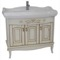 39 Inch Floor Standing Vanilla Vanity Cabinet With Fitted Sink