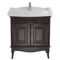 31 Inch Floor Standing Calvados Vanity Cabinet With Fitted Sink