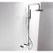 Adjustable Chrome Shower Column With Shower Head, Diverter And Handshower 387/2 CR