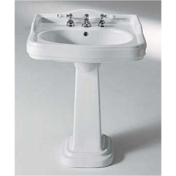 22 Inch Pedestal Sink : ... Sink, GSI 563112, 29 Inch Classic Style Ceramic Pedestal Bathroom Sink