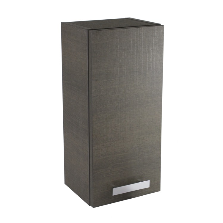 Storage Cabinet, ACF P352GO, Short Storage Cabinet in Grey Oak Finish