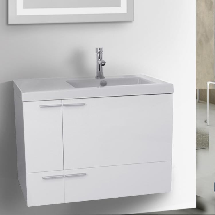 Bathroom Vanity, ACF ANS20, 31 Inch Bathroom 2 Piece Vanity Set