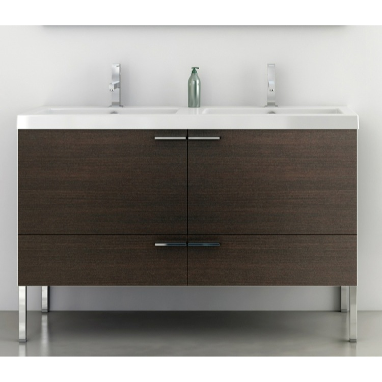 Bathroom Vanity, ACF ANS36, 47 Inch Vanity Cabinet With Fitted Sink
