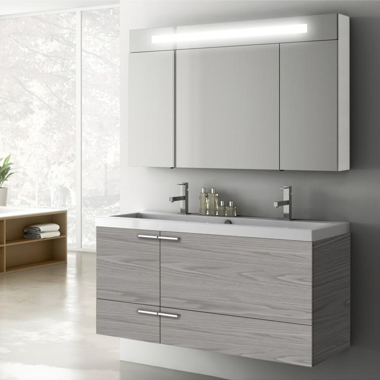 Acf Ans10 By Nameek S New Space 47 Inch Bathroom Vanity Set Thebathoutlet