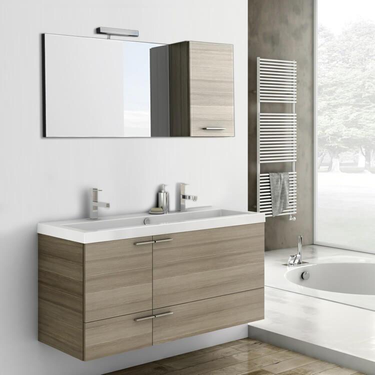 Acf Ans12 By Nameek S New Space 47 Inch Bathroom Vanity Set Thebathoutlet