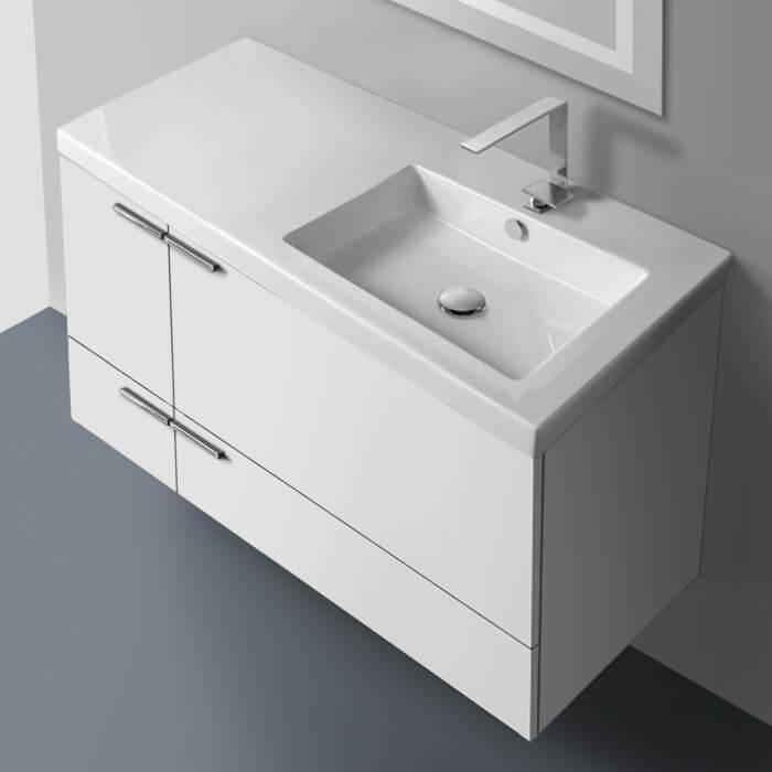 Acf Ans26 By Nameek S New Space 39 Inch Bathroom Vanity Set Thebathoutlet