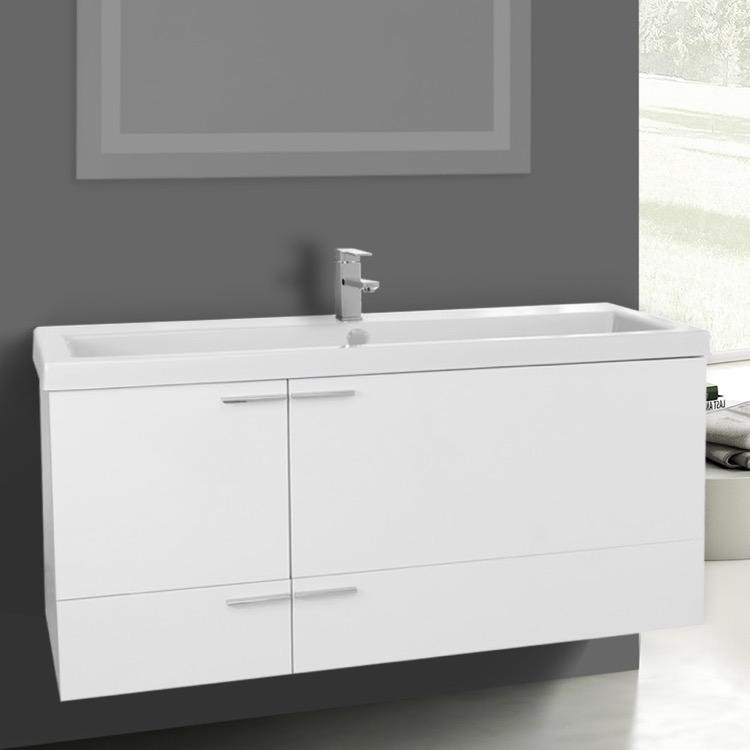 Acf Ans368 By Nameek S New Space Trough, White Trough Sink Bathroom Vanity