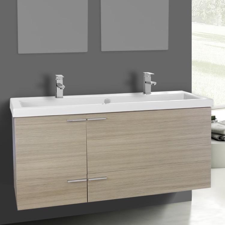 47 inch larch canapa bathroom vanity set sink acf