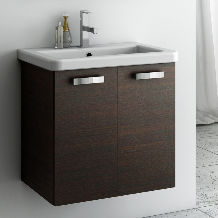 Bathroom Vanity, ACF CP08, 22 Inch Vanity Cabinet With Fitted Sink
