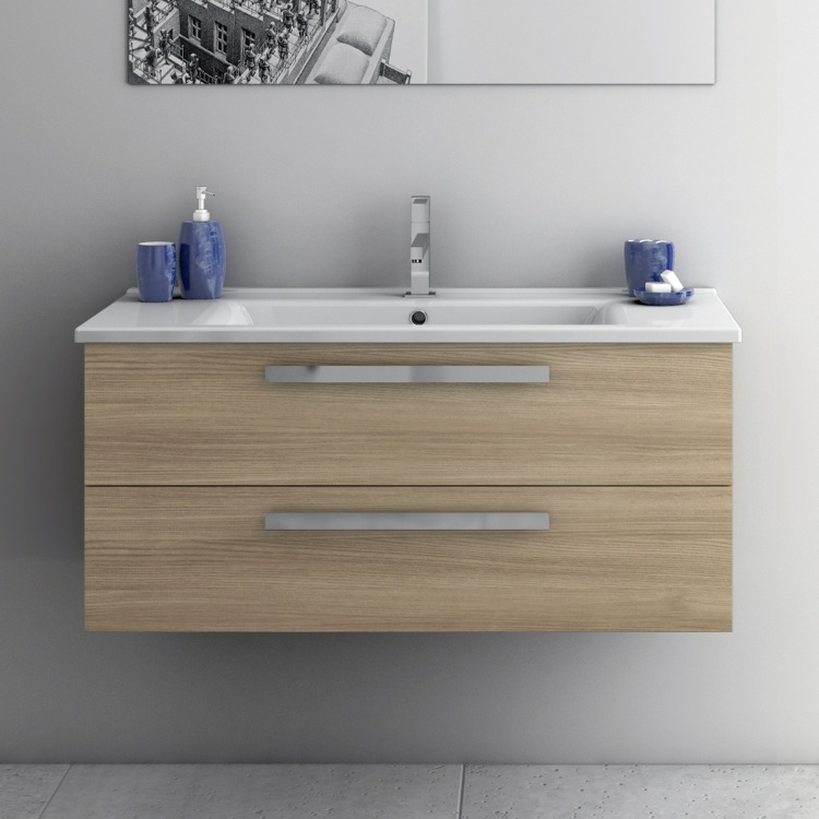 Bathroom Vanity Acf Da06 38 Inch Cabinet With Ed Sink