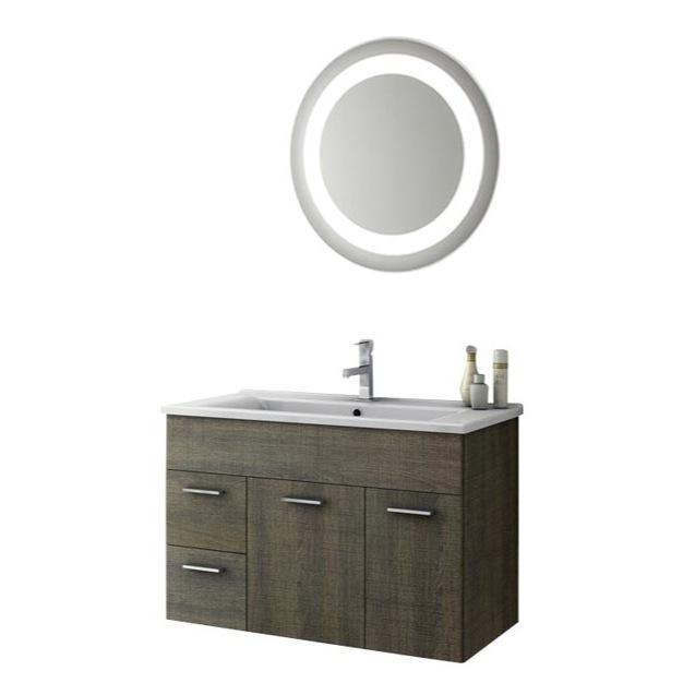 33 inch bathroom vanity set