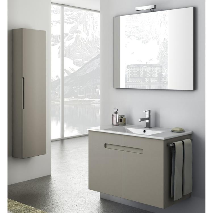 Model ACF Bathroom Vanities New York 2443939 Single Bathroom Vanity Set