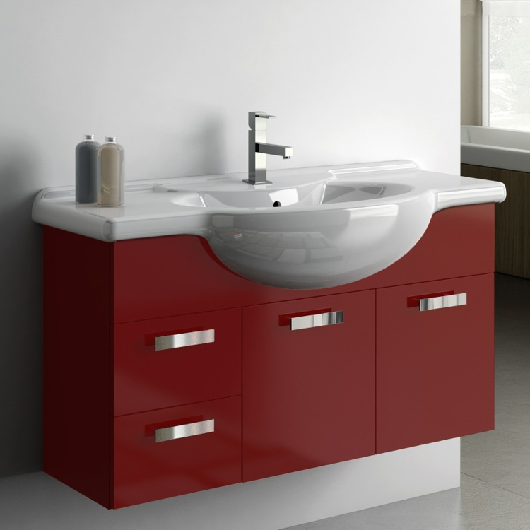 Inch Vanity Cabinet With Fitted Sink ACF PH TheBathOutlet - 39 bathroom vanity cabinet