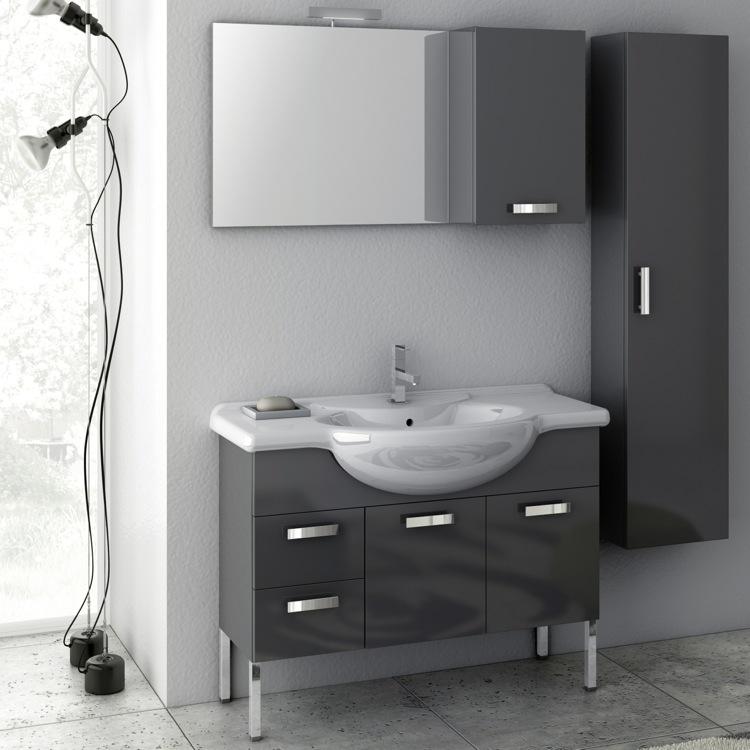 39 inch bathroom vanity set