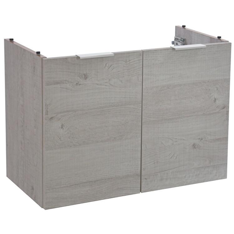 vanity arcom nmk049 28 inch wall mount bathroom vanity cabinet