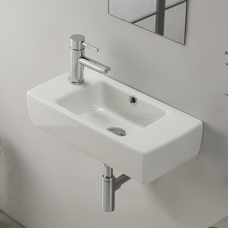 Small Wall Mount Bathroom Sink
