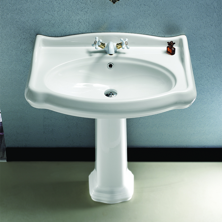 Cerastyle 030300 Ped By Nameeks 1837 Classic Style White Ceramic
