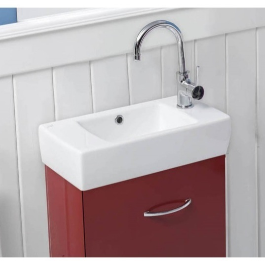 Cerastyle 001500 U By Nameek S City, Sinks For Small Bathrooms Wall Mount