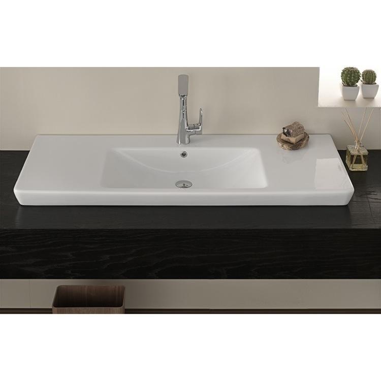 Cerastyle 068500 U Bathroom Sink Porto Nameek S