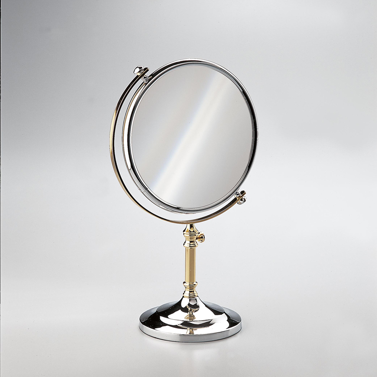 Makeup Mirror, Windisch 99108D-CR-3x, Double Face 3x Magnifying Mirror