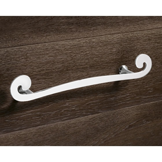 Towel Bar, Gedy 3321-40-13, 16 Inch Round Chrome Towel Holder