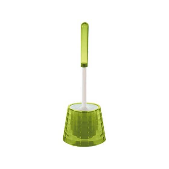 Toilet Brush, Gedy GL33-04, Decorative Avovado Green Toilet Brush Holder