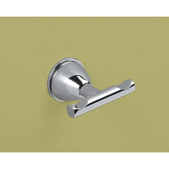 Bathroom Hook, Gedy GE26-13, Chrome Double Hook