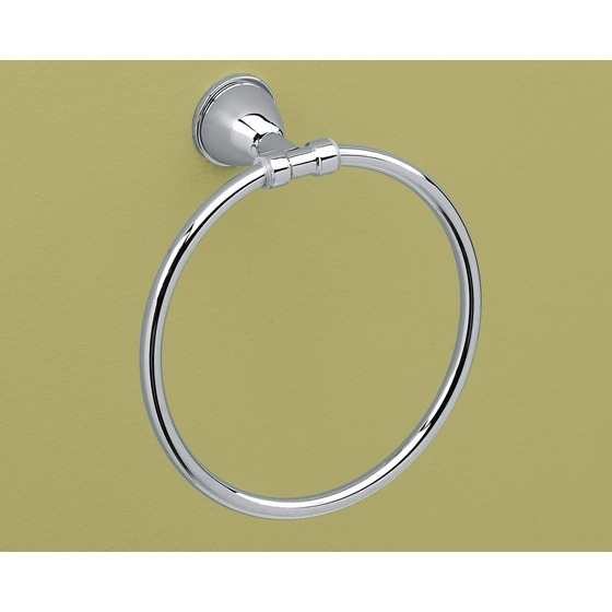 Towel Ring, Gedy GE70-13, Round Chrome Towel Ring