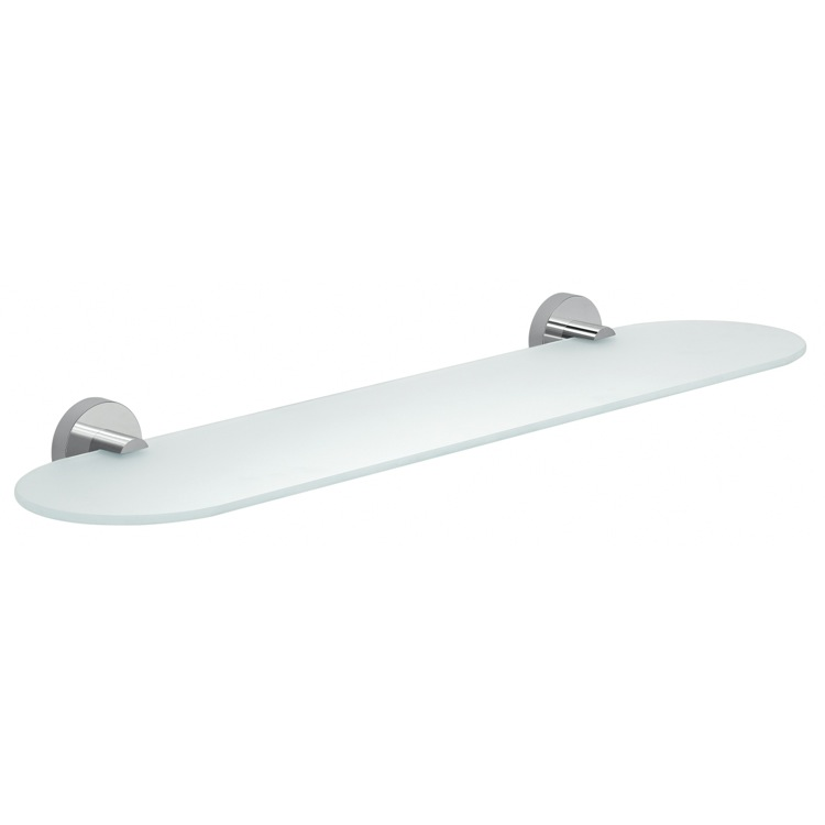 Gedy 2319-60-13 By Nameek\'s Eros Frosted Glass Bathroom Shelf ...