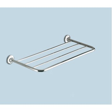 Train Rack, Gedy 2744-13, Polished Chrome 23 Inch Towel Shelf