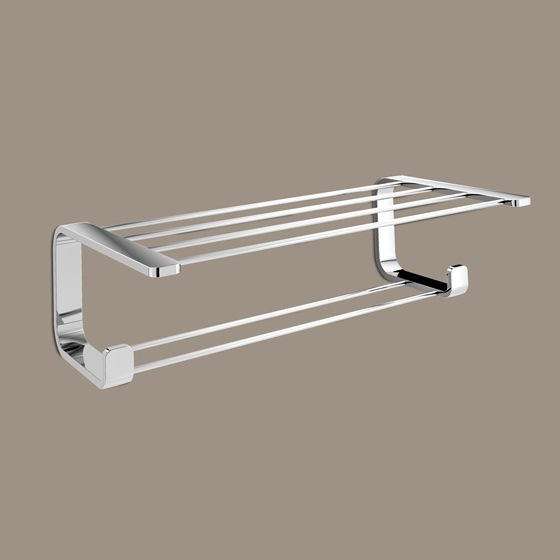 Gedy 3235 13 By Nameek S Outline Polished Chrome Towel Rack Thebathoutlet