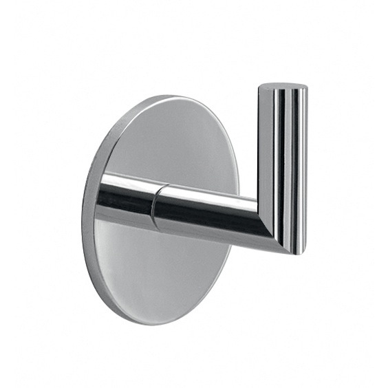 Bathroom Hook, Gedy 3626-13, Adhesive Chrome Wall Mounted Hook