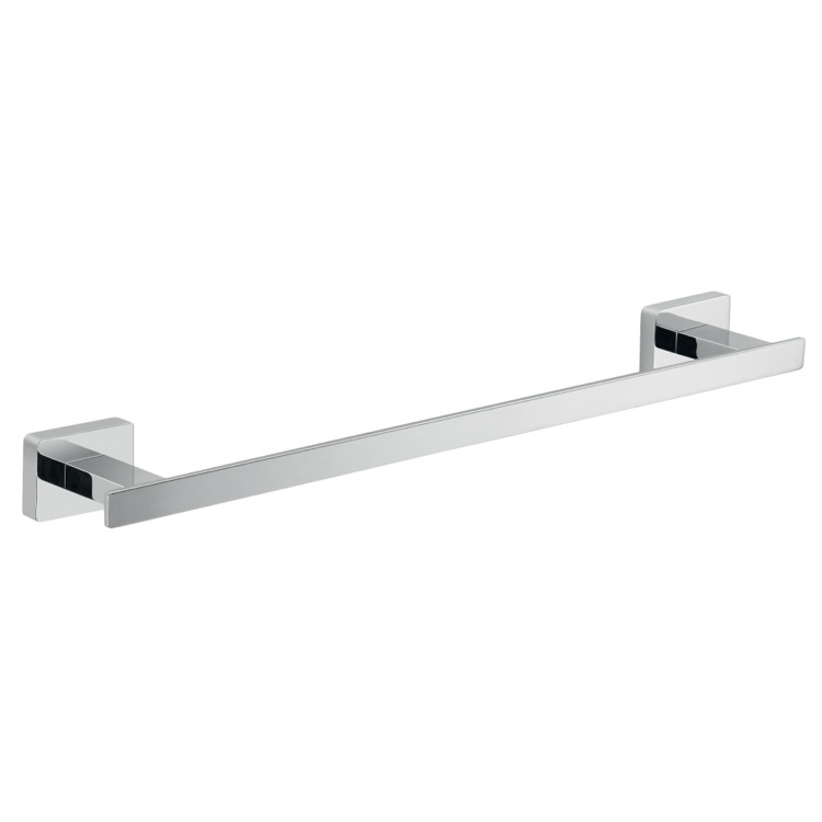 Towel Bar Gedy 4421 30 13 14 Inch Square Polished Chrome