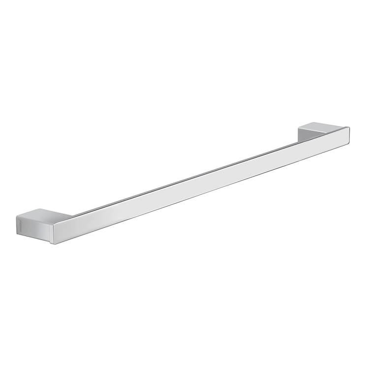 Towel Bar, Gedy 5421-60-13, Square 24 Inch Towel Bar In Polished Chrome
