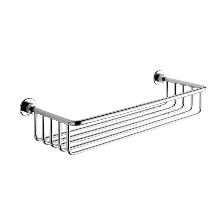 Shower Basket, Gedy 5618-13, Chrome Wire Shower Basket
