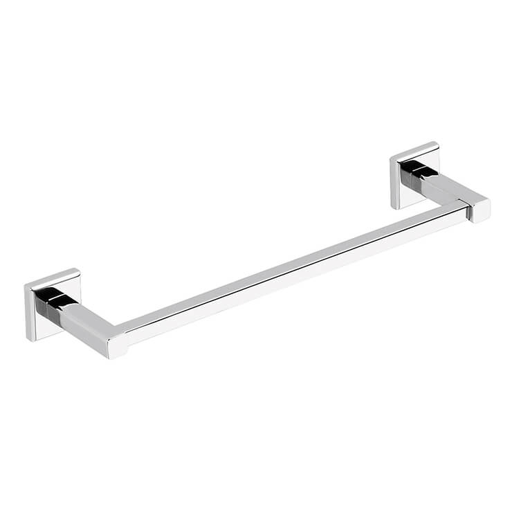 Towel Bar, Gedy 6921-35-13, Polished Chrome 14 Inch Towel Bar