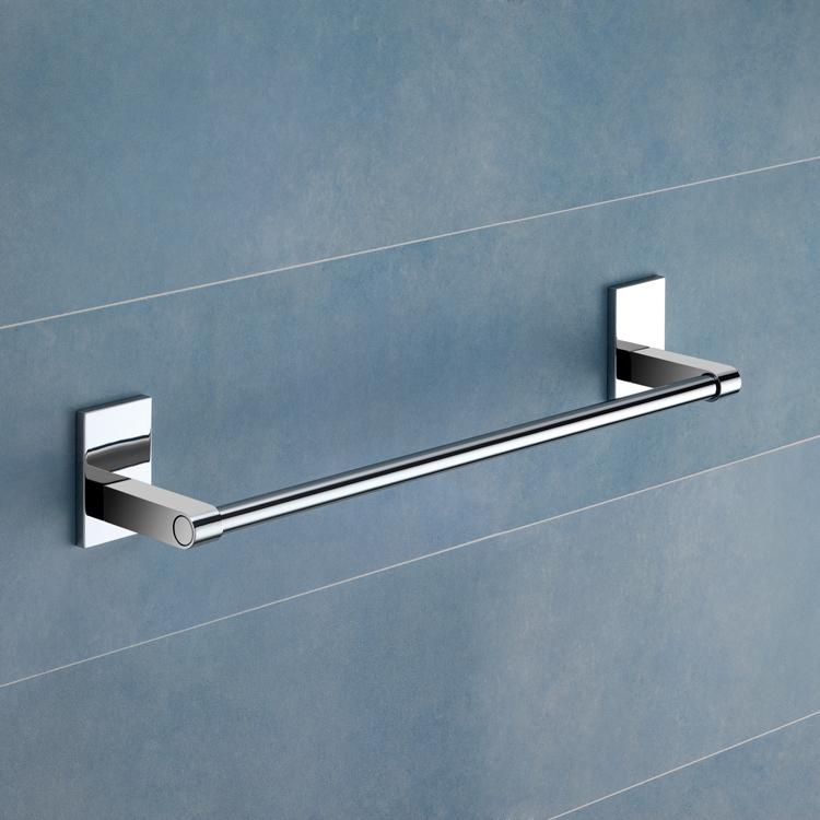 Towel Bar 14 Inch Polished Chrome Towel Bar Gedy 7821 35 13