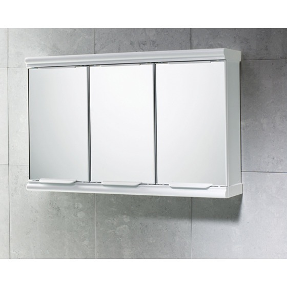 Gedy 8047 13 By Nameeks Princess Chrome Cabinet With 3 Mirrored