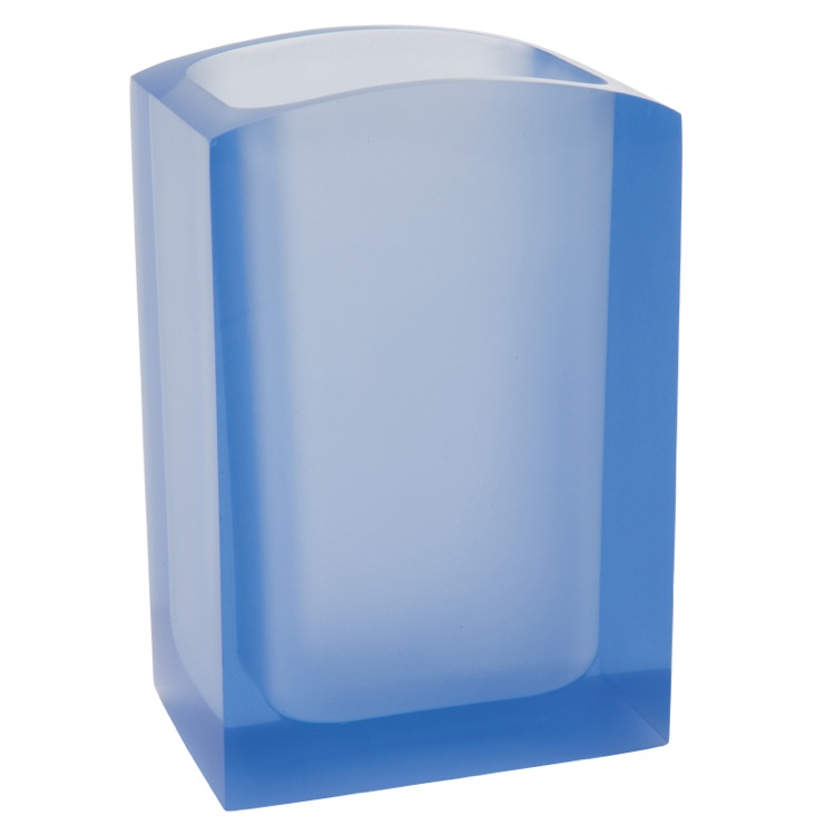 Toothbrush Holder, Gedy AT98-11, Light Blue Free Standing Toothbrush Holder