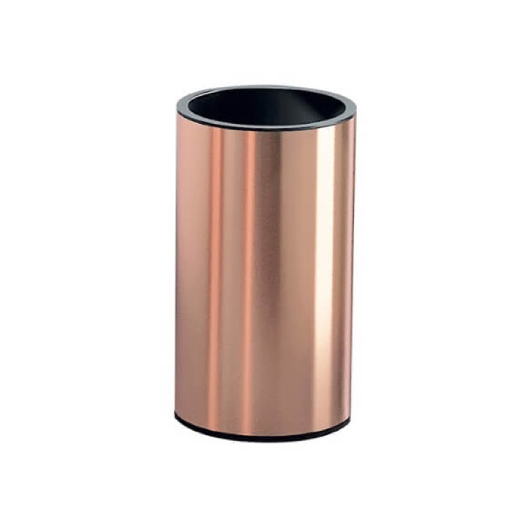 Toothbrush Holder, Gedy EE98-15, Rose Gold Free Standing Toothbrush Holder