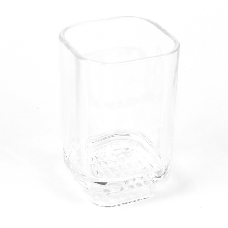 Toothbrush Holder, Gedy 1098-00, Transparent Free Standing Tumbler