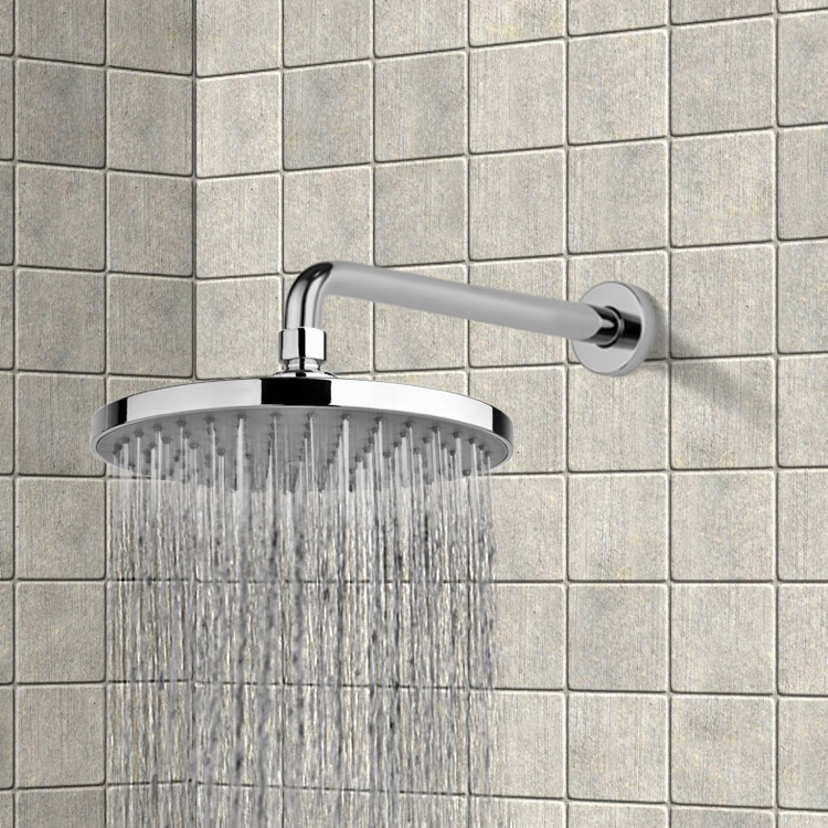 Gedy Thermostatic Shower Column.Gedy Sup1125 By Nameek S Superinox 8 Rain Shower Head With Arm