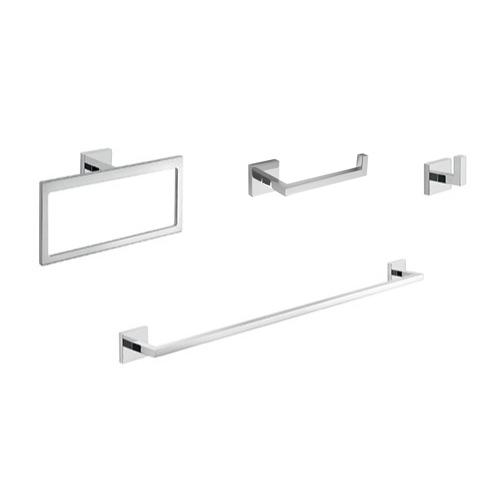 Elba Modern Bathroom Accessories Set, Modern Bathroom Hardware