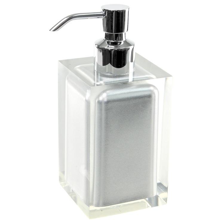 Modern Bathroom Soap Dispenser: Gedy RA81 Soap Dispenser, Rainbow