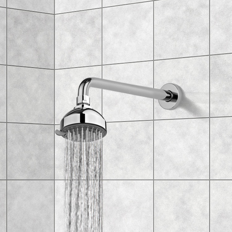Gedy Thermostatic Shower Column.Gedy Sup1120 By Nameek S Superinox Chrome Showerhead With 3 Settings