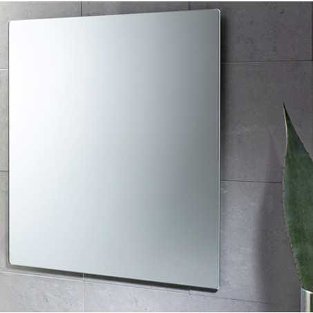 Vanity Mirror, Gedy 9098, 32 x 28 Inch Wall Mounted Vanity Mirror