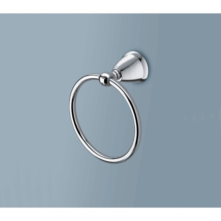 Towel Ring, Gedy LI70-13, Polished Chrome Towel Ring