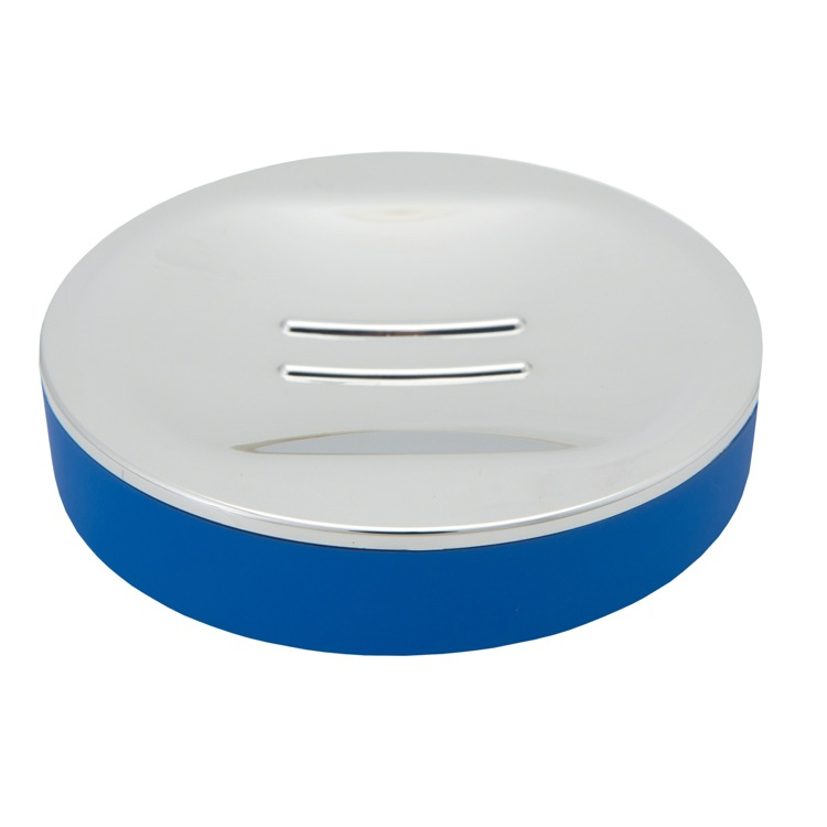 Soap Dish, Gedy LU11-05, Free Standing Blue Soap Dish