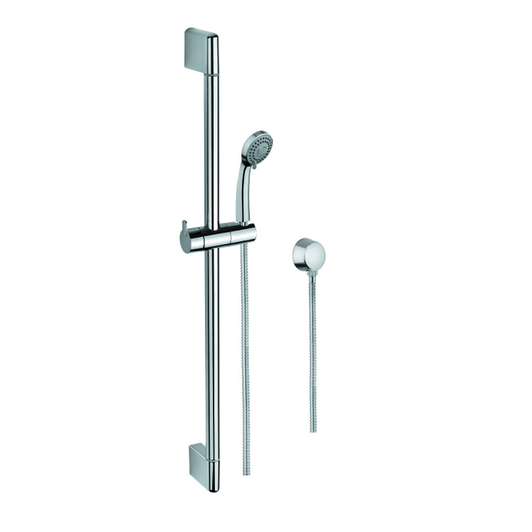 Sliding Rail Hand Shower Set, Gedy SUP1097, Hand Shower, Sliding Rail and Water Connection