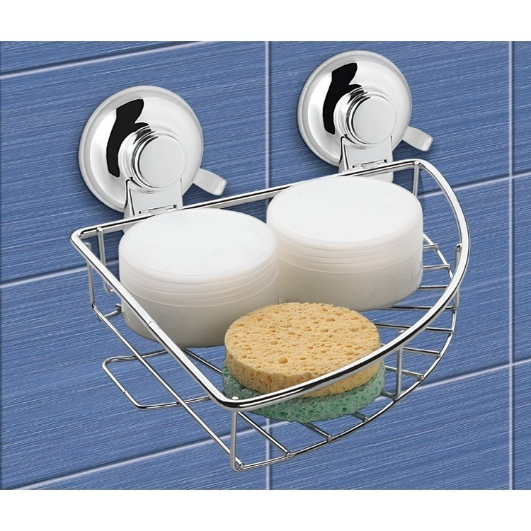 Gedy ho80 13 shower basket hot nameek 39 s for Accessori bagno a ventosa everloc